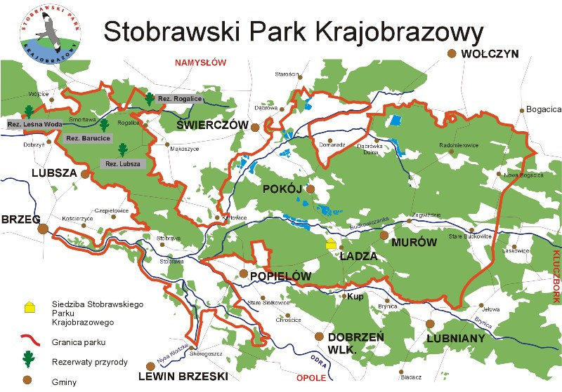 Plan parku